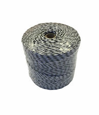 400m POLY WIRE for Electric Fencing - 9 Strands Fence Kit Stainless Steel Strand