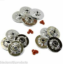 YA-0169 1/10 Scale RC Car M12 12mm Hub Silver Plastic - 12 Brake Disc Disk Set