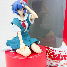 "Evangelion Rei Ayanami Figure Music Box Ver.3 ""Fly Me to The Moon"" SEGA JAPAN"