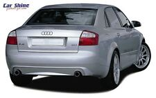 Audi A4 B6 GENUINE ZENDER REAR BUMPER INSERT for DUAL EXHAUST TIPS