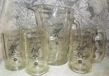 Vintage General Motors Assembly Division GMAD Leeds Beer Pitcher & Mugs