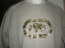 NWT ECKO UNLTD L/S CREWNECK SWEATSHIRT WITH SIDE POCKETS SZ:XL