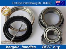 1 x MARINE TRAILER BOAT/CARAVAN WHEEL BEARING KIT-FORD Waterproof Seal & Split