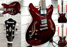Ibanez as-73l TCR-TRASPARENTE Cherry-LeftHand Edition-immediatamente disponibile!!!