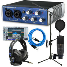 PreSonus AudioBox Studio Recording Package BONUS PAK