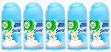 5 REFILLS Air Wick Freshmatic Ultra SNUGGLE FRESH LINEN Automatic Spray Refill