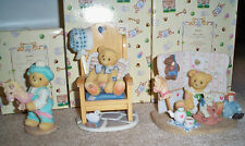 Cherished Teddies Club Rewards 1997 - 1998 Set Benny Amelia Mary Jane