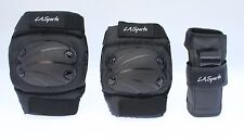 Large Kids Knee Pads, Elbow Pads and Wrist Guards (Set of 6 Pads) - ages 9 - 12