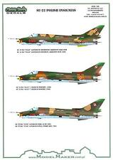 "Model Maker Decals 1/48 SUKHOI Su-22 ""FITTER"" Polish Air Force Fighter"