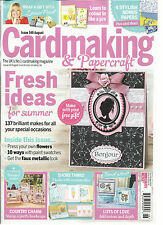 CARD MAKING & PAPERCRAFT, AUGUST, 2015 ISSUE, 146 ( THE UK'S CARDMAKING MAGAZINE