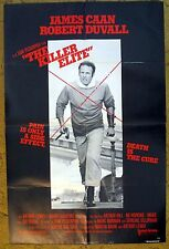 "Who Protects Us From the CIA? ""THE KILLER ELITE"" Sam Peckinpah film - poster"