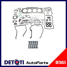 Fits:92-97 Toyota Camry XLE,LE,DLX 2.2  Eng. Code 5SFE  Head Gasket Set & Bolts