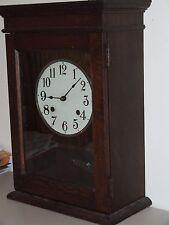 Cincinnati Time Recorder Regulator Clock w/ Seth Thomas #60 Double Spring Movt.