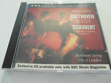 BBC Music - Beethoven & Schubert String Trio`s (CD Album 1995) Used Very Good