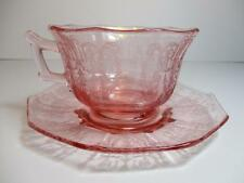 Cambridge Cleo Pattern Pink Cup and Saucer Set(s)