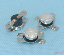 10pcs Temperature Switch 10°C NO Normally Open Bimetal disc thermostat KSD301