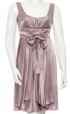 Auth PRADA Lavender Pink Silk Pleated Swing Dress Italy 40 (US sz 4)
