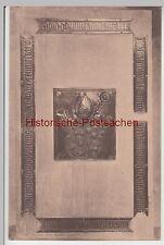 (110386) AK Meißen, Grabplatte d. Bischof v. Schleinitz im Dom, 1921