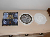 Lord of the rings. BNIB Limited Edition Collectors Plate of 2000. Gandalf/White.