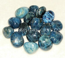 5 x Apatite Blue Tumblestones 17mm-20mm A Grade Crystal Gemstone Wholesale Bulk
