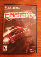 Playstation 2 Video EA Game Need For Speed Carbon Car