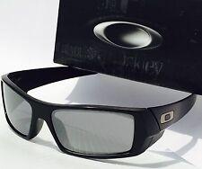 NEW* OAKLEY GASCAN Matte BLACK w Black Iridium lens Sunglass  $140 SAVE!