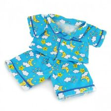 "Blue Cozy Moon & Cloud Pjs Pigiama Teddy Clothes per adattarsi 15"" Build A Bear Peluche"