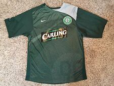 NIKE 90 Fit Dry Celtic Football Club Soccer Carling Jersey Shirt Sz Mens Small
