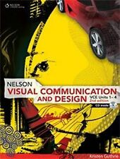 Visual Communication and Design VCE Units 1-4 by Kristen Guthrie (Paperback,...