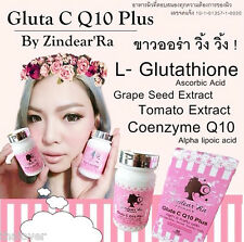 NEW Gluta C Q10 PlusSuper,scars, wrinkles white aura ,natural extracts 30 caps