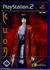 PS2 Kuon UK/Euro Pal, Multi-Lang Disc/Manual, German Boxtext Sony Factory Sealed
