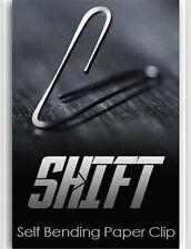 Sale! Shift Self Bending Paperclip,Magic trick,psy bending,close up magic,mental