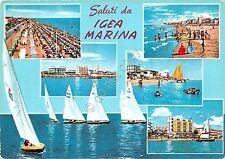 Cartolina - Saluti da - Igea Marina - Vedutine - 1963