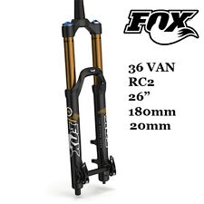 "2015 FOX 36 VAN RC2 26""  Fork 180mm Travel 1-1/8"" Coil 20mm Thru-axle"