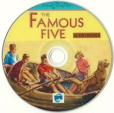 Famous Five by Enid Blyton - Complete 21 Audio Books Collection MP3's on DVD