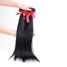 3Bundles Straight Virgin Hair Brazilian Unprocessed Human hair extensions Weave