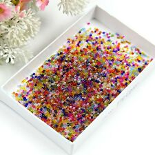 2000Pcs Czech Glass Seed Spacer Beads DIY Jewelry Making Mixed Colors ,2mm