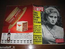 RIVISTA TEMPO 1965/21=DALIDA=GAIA GERMANI=LIANA ORFEI=ELENA RAHEVSKAJA=