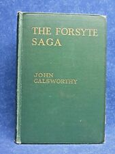 The Forsyte Saga by John Galsworthy, Charles Scribner's Sons, 1922, Hardcover