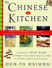 The Chinese Kitchen: A Book of Essential Ingredients with Over 200 Eas-ExLibrary