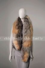 GENUINE REAL LONG Vulpes vulpes  Red Fox  STOLE COLLAR WRAP SHAWL