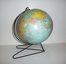 Ancien Globe terrestre Vintage des années 60's  Signé Girard et Barrere