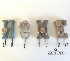 HOME-SHABBY CHIC Decorativo Ganci Muro Staffa