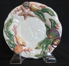 Fitz & Floyd Home Fragrance Sea Shell Dish (Candle/Candies/Trinkets) 6 1/8""