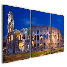Quadro moderno Colosseo vol II stampa su tela canvas intelaiato ® quality