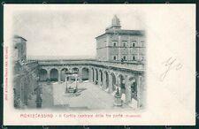 Frosinone Cassino Montecassino Bramante Alterocca 2917 cartolina XB3178