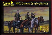 Caesar Miniatures 1/72 WWII GERMAN CAVALRY DIVISION Figure Set