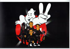The Simpsons GHOSTBUSTERS TEAM Print DC Springfield Punx