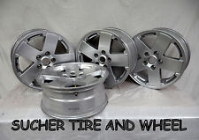 "JEEP WRANGLER  18"" FACTORY OEM WHEELS RIMS HOLLANDER 9076B SILVER SET (4)"