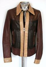 Dolce & Gabbana Crocodile Skin & Leather Jacket EU50 Medium Large RRP £11,000
